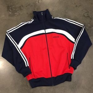 Adidas vintage zip-up track jacket